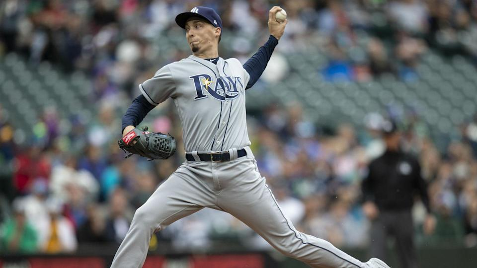 Blake Snell won the 2018 AL Cy Young award, besting Justin Verlander and Corey Kluber. (AP)
