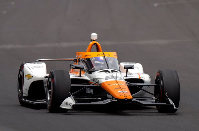 FILE PHOTO: IndyCar: Crown Royal Armed Forces Qualifying