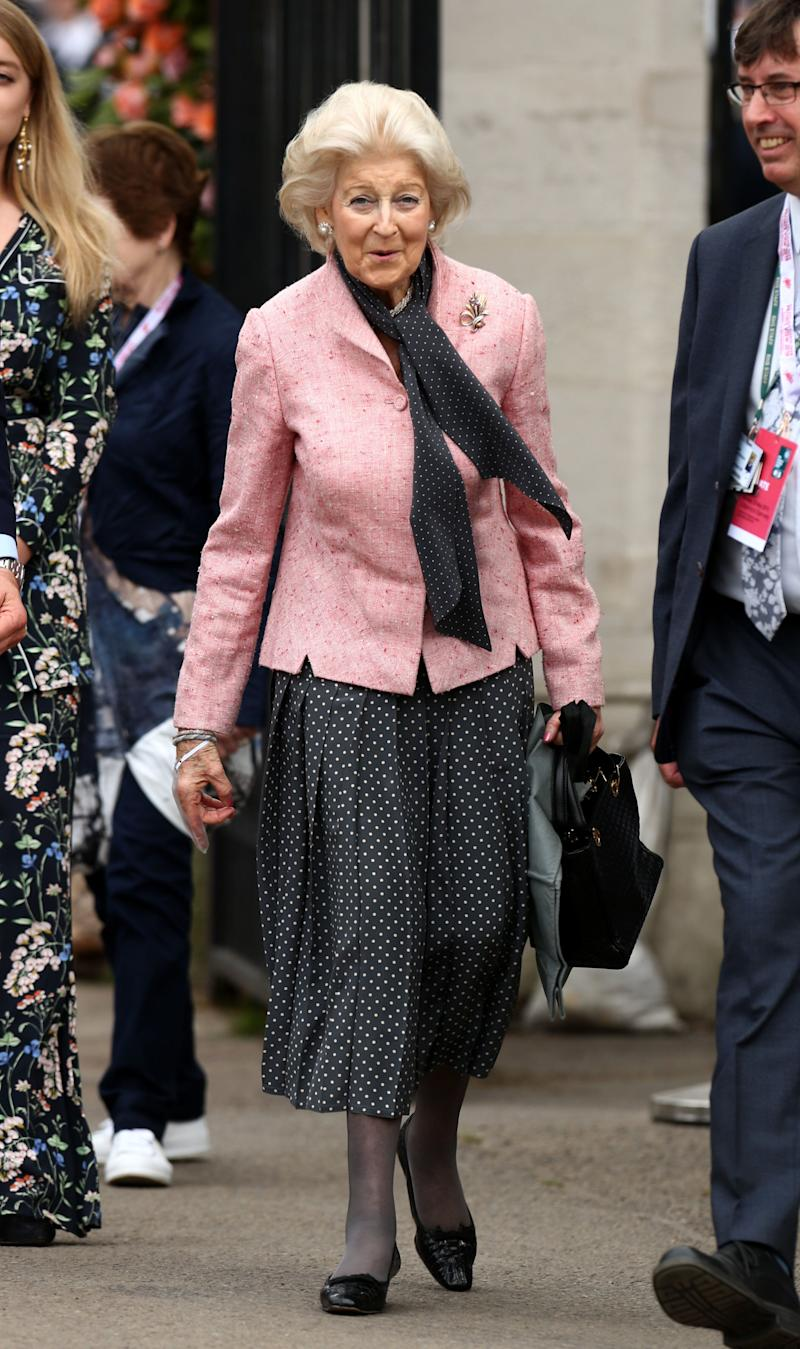 Princess Alexandra arrives at the Chelsea Flower Show [Photo: PA]
