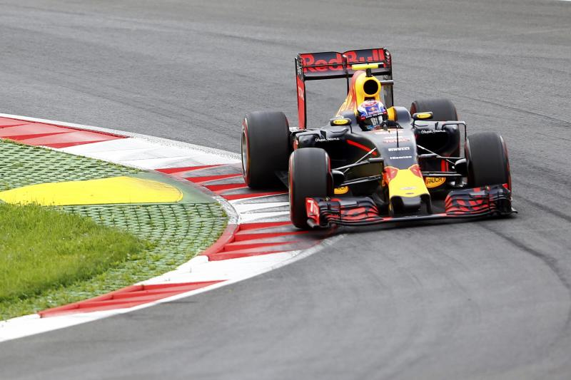 Formula One - Grand Prix of Austria - Spielberg, Austria - 2/7/16 -  Red Bull Formula One driver Max Verstappen of Netherlands drives during the qualifying session. REUTERS/Dominic Ebenbichler