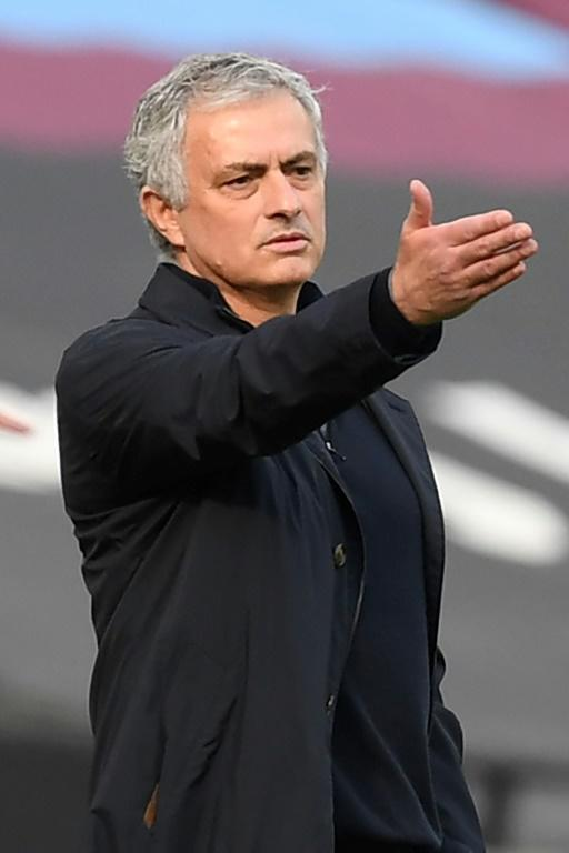 Jose Mourinho's Tottenham have taken just 12 points from their last 13 league games