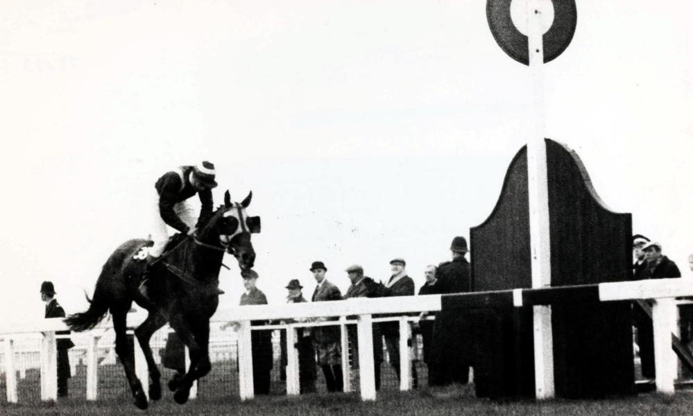 Foinavon, a 100-1 shot ridden by John Buckingham, wins the 1967 Grand National at Aintree