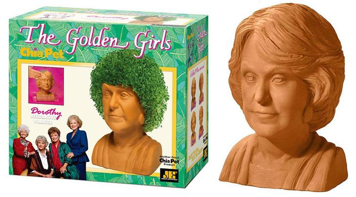 You Can Now Buy Golden Girls Chia Pets For Your Ahem Quirkiest Friends