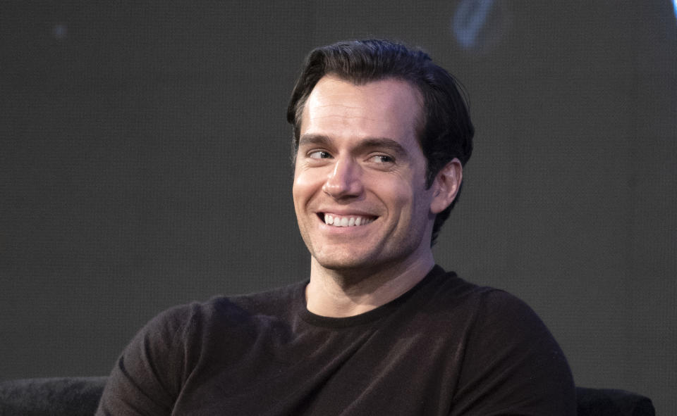 BUENOS AIRES, ARGENTINA - DECEMBER 07: Actor Henry Cavill attends a panel for Netflix's