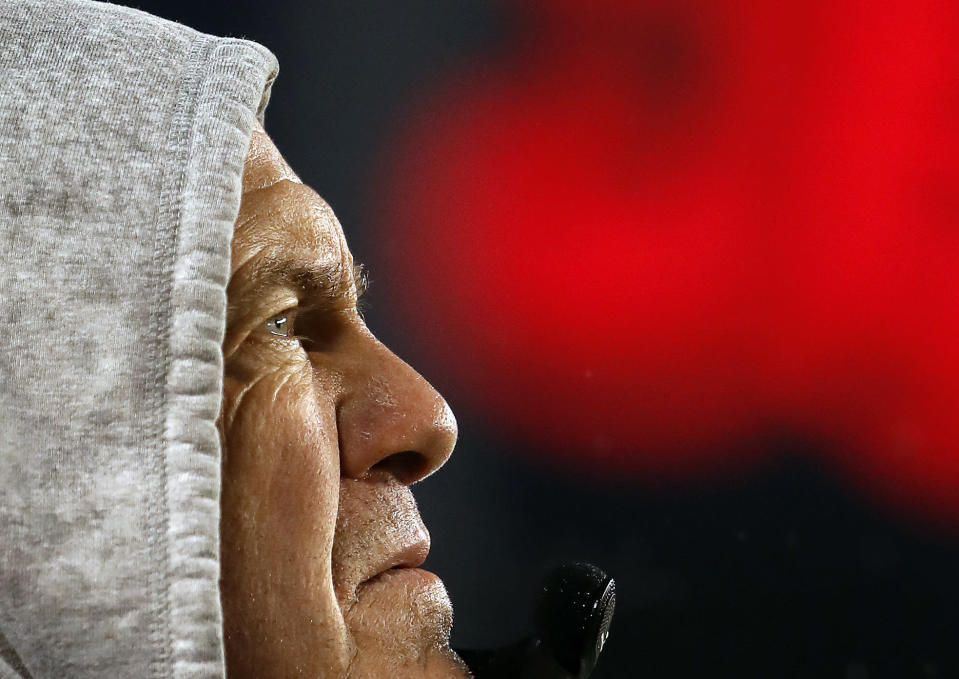 Bill Belichick isn't an easy man to consistently please, even with five Super Bowl rings. (AP)