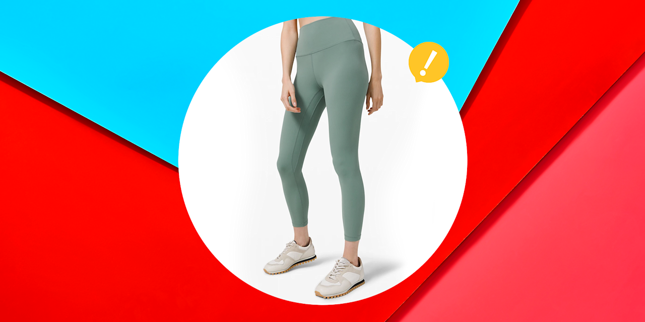 """<p>As far as I'm concerned, everyone should have at least one (okay, five) pairs of great leggings in their wardrobe. The right cut and stretch can make those lunges, burpees, and mountain climbers a breeze. </p><p>If you want to add a new pair to your growing collection, look no further. Right now, Lululemon is offering <a href=""""https://shop.lululemon.com/c/women-pants/_/N-1z13zi2Z7w0"""" target=""""_blank"""">a bunch of discounts on leggings</a> in its <a href=""""https://shop.lululemon.com/c/women/_/N-1z13zi2Z7vf?mnid=mn;en-US-JSON;women;we-made-too-much"""" target=""""_blank"""">""""We Made Too Much""""</a> section. </p><p>You see, when <a href=""""https://shop.lululemon.com/"""" target=""""_blank"""">Lululemon</a> has a surplus of pieces (or, in this case, leggings) they will offer severe price cuts to incentivize their shoppers. I mean, as if we needed any convincing. From breezy sweatpants to full-coverage leggings, there's something here for everyone. </p><p>Go ahead, start your weekend early with these eight discounted pairs. </p>"""