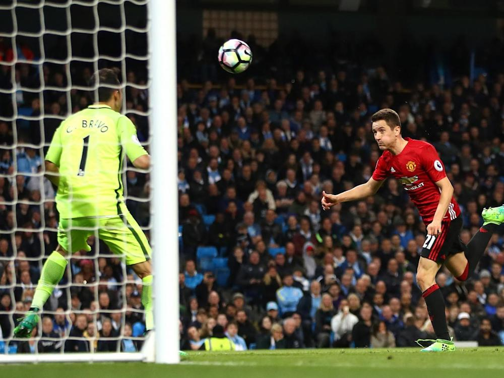 Herrera should have scored at the end of the first half (Getty)