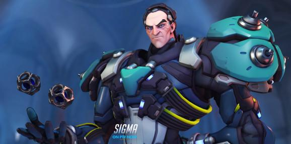 Overwatch's new gravity-controlling tank Sigma is what the