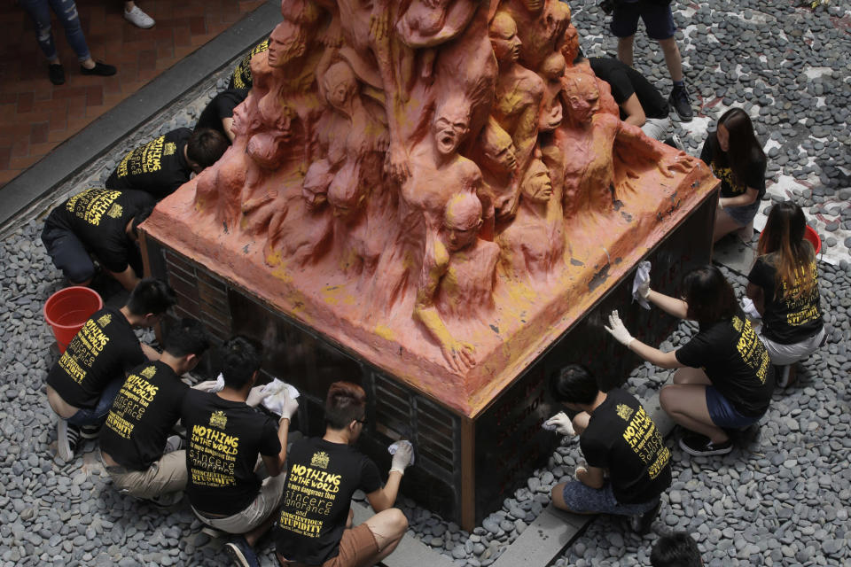 Here's why Hong Kong University ordered the Tiananmen Square massacre statue removal