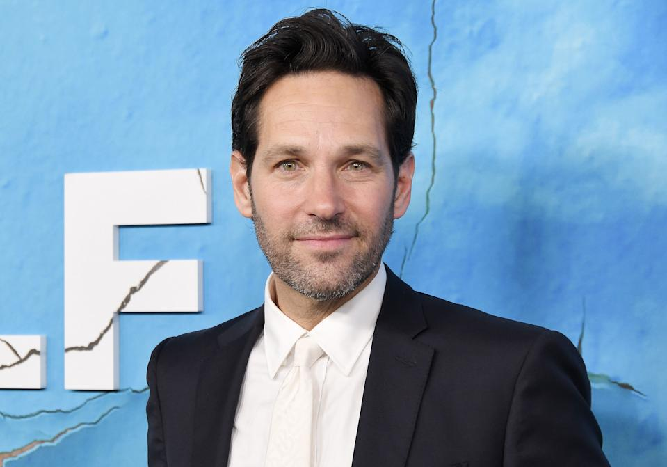 Paul Rudd arrives at the Netflix's LIVING WITH YOURSELF Season 1 Premiere held at the ArcLight Hollywood in Los Angeles, CA on Wednesday, October 16, 2019. (Photo By Sthanlee B. Mirador/Sipa USA)