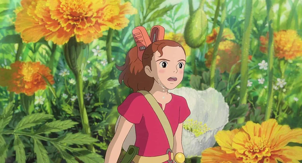 """Every time I watch a Studio Ghibli movie, it takes my heart away. I love their magical stories and their world building and their animation. The movie revolves around a family of four-inch-tall people who live anonymously in another normal family's residence, borrowing simple items to make their home. Life changes for the Clocks when their teenage daughter, Arrietty, is discovered. You can watch it on <a href=""""https://www.netflix.com/search?q=Arrietty&jbv=70216227&jbp=0&jbr=0"""">Netflix</a>. <br>"""