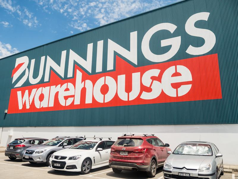 Bunnings Warehouse, owned by Wesfarmers, is the largest hardware business in Australia. This is the suburban Nunawading store.