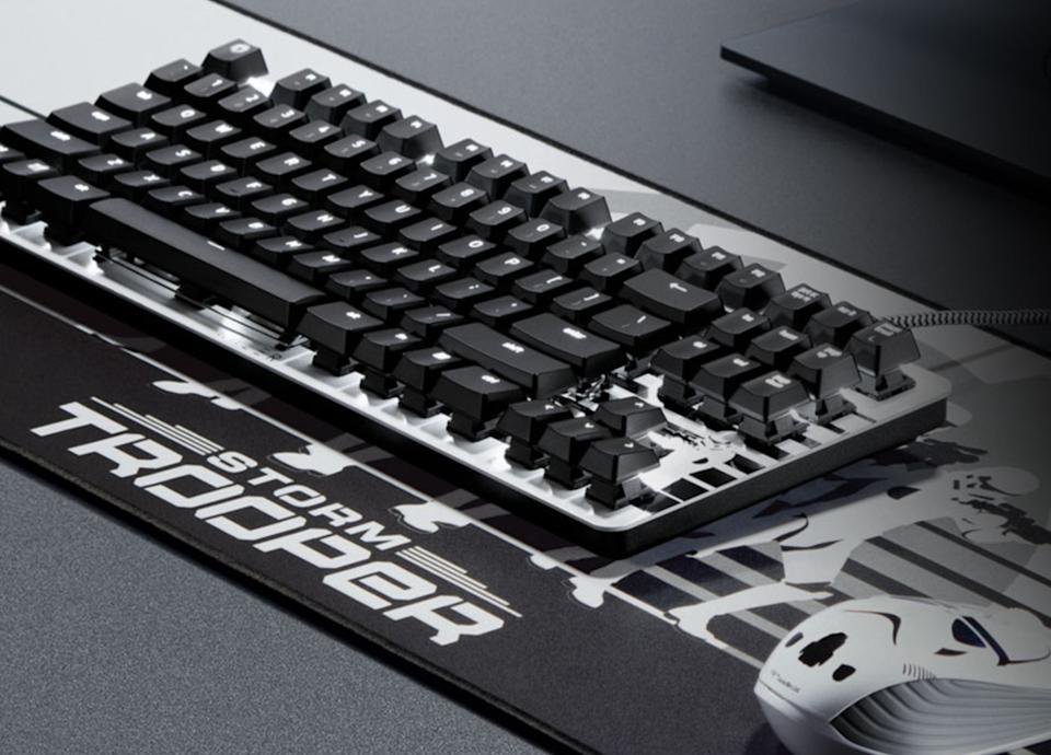Deck out your gaming desktop with these goods from Razer—save 10 percent for Star Wars Day. (Photo: Razer)