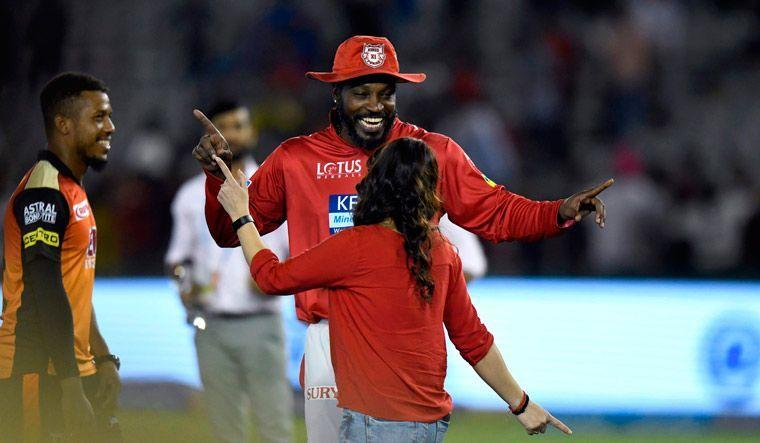 Chris Gayle will be looking to fir