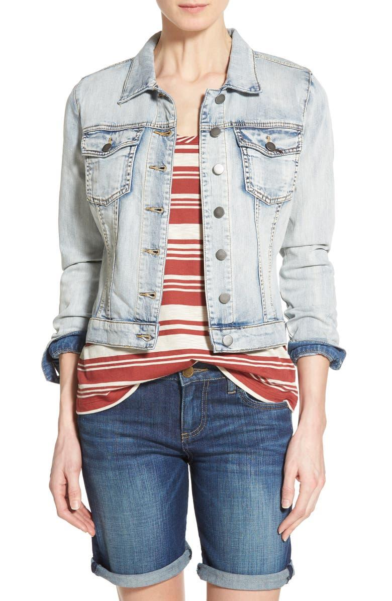 'Helena' Denim Jacket - Kut From The Kloth, Nordstrom, $47 (originally $79)
