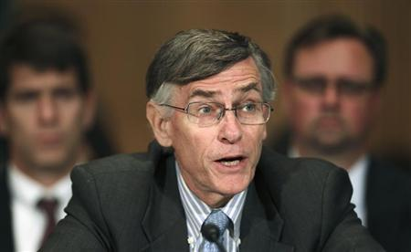 Richard Ketchum testifies before the Senate Banking Housing and Urban Affairs Committee in Washington