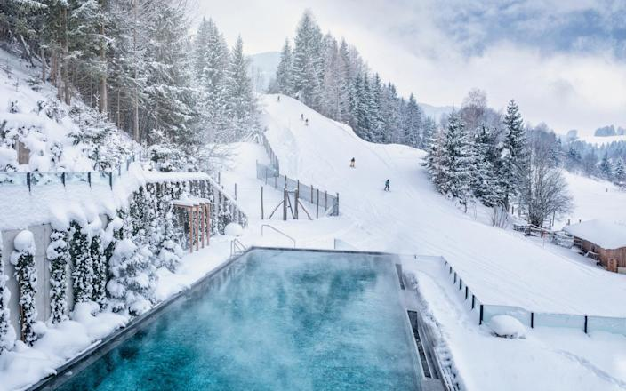 Reward your efforts on the slopes in the spa not the bar - Hotel Forsthofgut