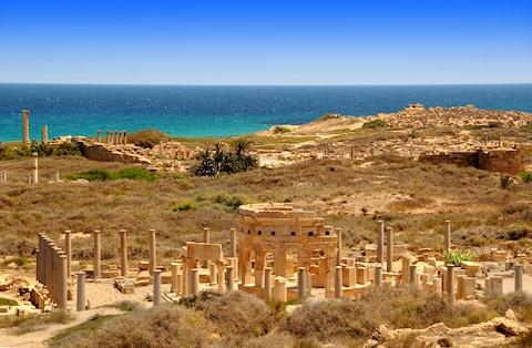 Leptis Magna - Credit: getty