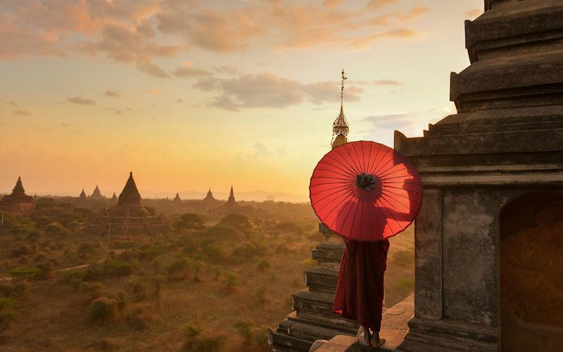Buddhism is part of the fabric of Myanmar – join a shore excursion where you meditate with monks - saravut654@hotmail.com