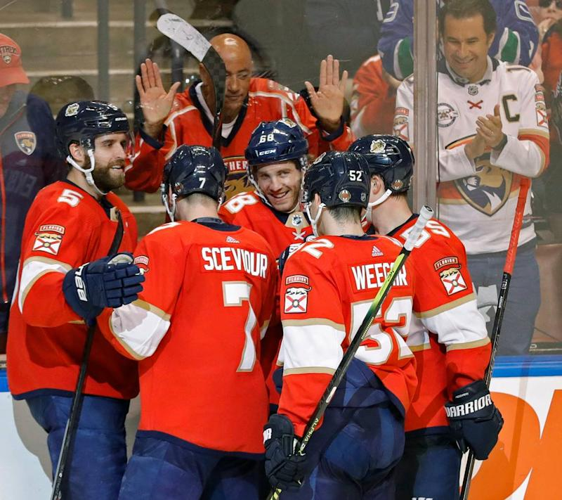 Here's when the Florida Panthers will play the New York Islanders for their play-in series