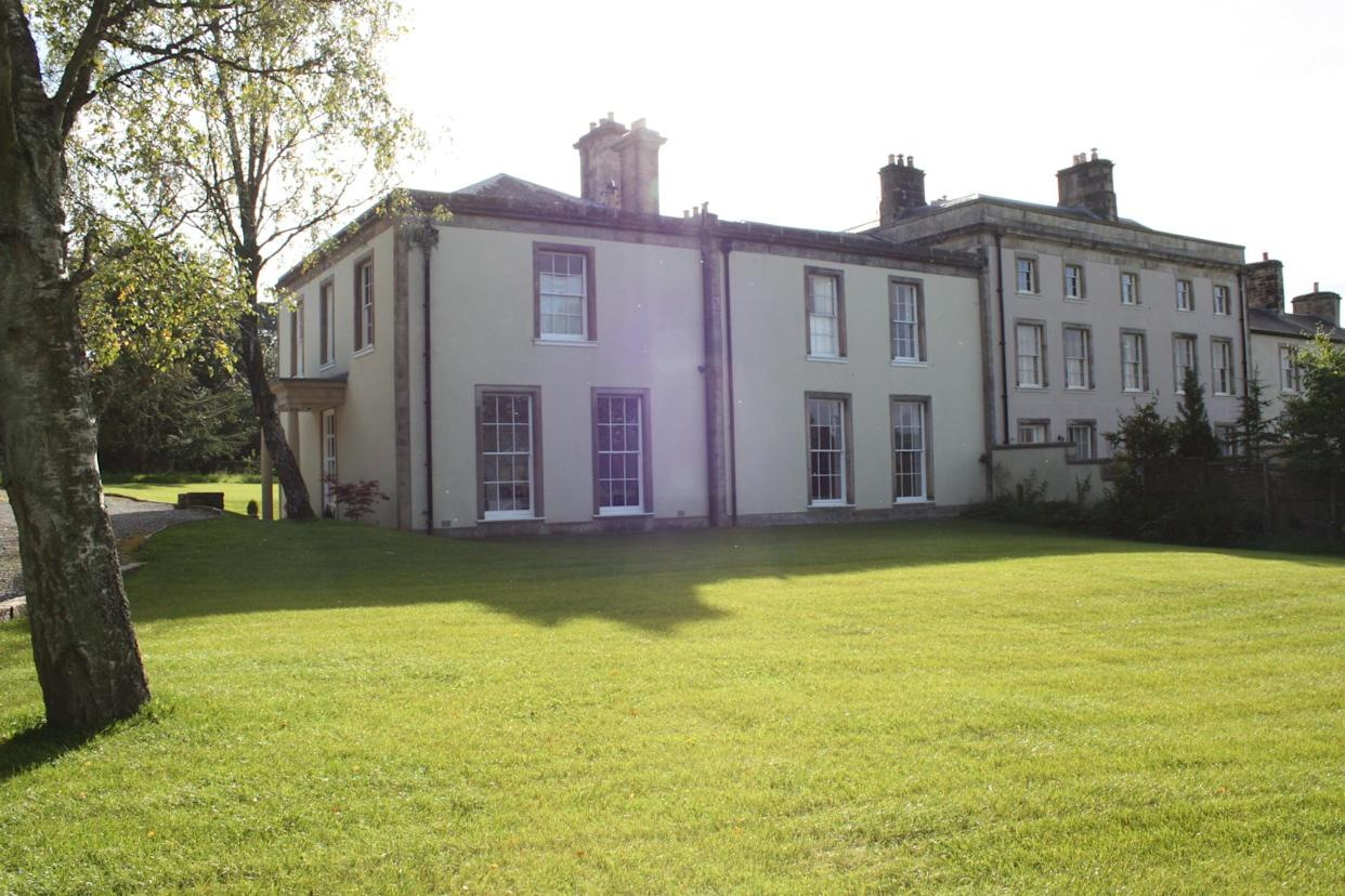 Melling Manor in Lancashire was won as prize for £2 lucky draw raffle ticket last year. Photograph: Winacountryhouse.com