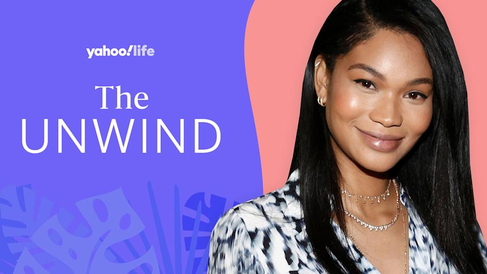 Chanel Iman on showing her game-day pride and the power of putting words to her feelings. (Photo: Getty; designed by Quinn Lemmers)