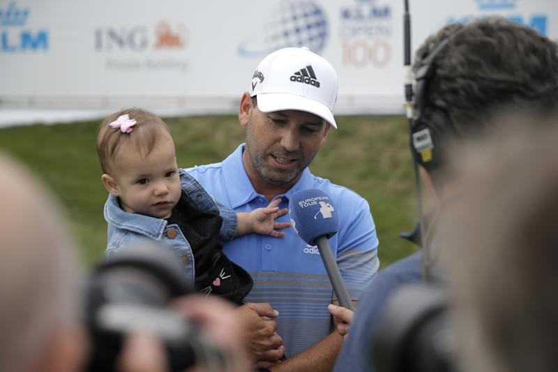Sergio Garcia accomplishes a personal best on the European Tour with his KLM Open win