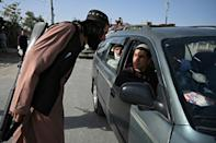 Taliban fighters are grappling with an awkward transition from insurgents to civilian patrolmen in Afghanistan (AFP/WAKIL KOHSAR)
