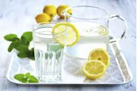 """<p>If you replace all of your beverages with water, you'll immediately cut calories. Not only that, you'll ensure that your body is optimally hydrated without unnecessary added chemicals and sugars. Plus, drinking a glass of water before a meal may fill you up a little so you eat less but still feel satiated. You may be motivated to drink more if you have one of these great <a href=""""https://www.prevention.com/fitness/workout-clothes-gear/g27088401/best-water-bottles/"""" rel=""""nofollow noopener"""" target=""""_blank"""" data-ylk=""""slk:water bottles"""" class=""""link rapid-noclick-resp"""">water bottles</a> handy. </p>"""