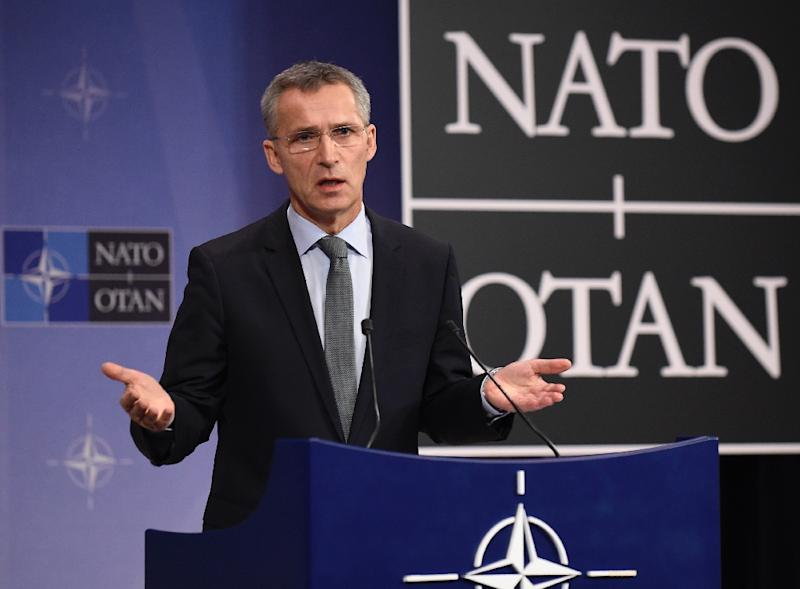 North Atlantic Treaty Organization (NATO) Secretary General Jens Stoltenberg is concerned about Russia's intentions in Syria, where it is reportedly sending personnel and hardware (AFP Photo/John Thys)