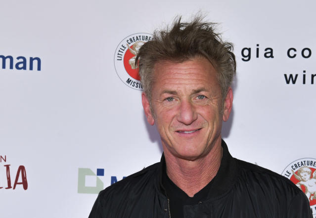 Sean Penn attends an event to benefit Australia wildfire relief efforts on March 08, 2020. (Photo by Rodin Eckenroth/Getty Images)