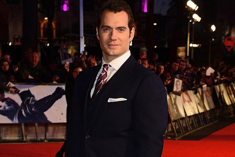 New role: Henry Cavill is set to star in the new Mission Impossible film: Dave Benett