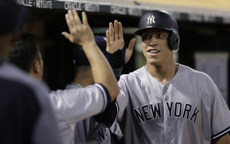 Aaron Judge has confirmed that he'll be in the Home Run Derby. (AP)