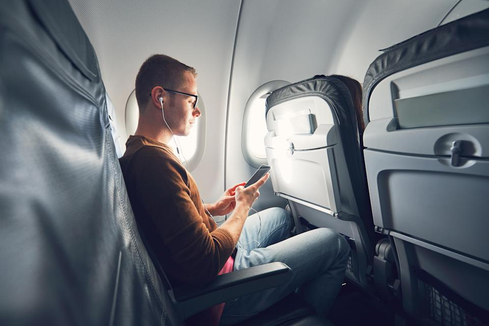 Not putting our phones on flight mode can also interfere with the pilot's job. Photo: Getty Images