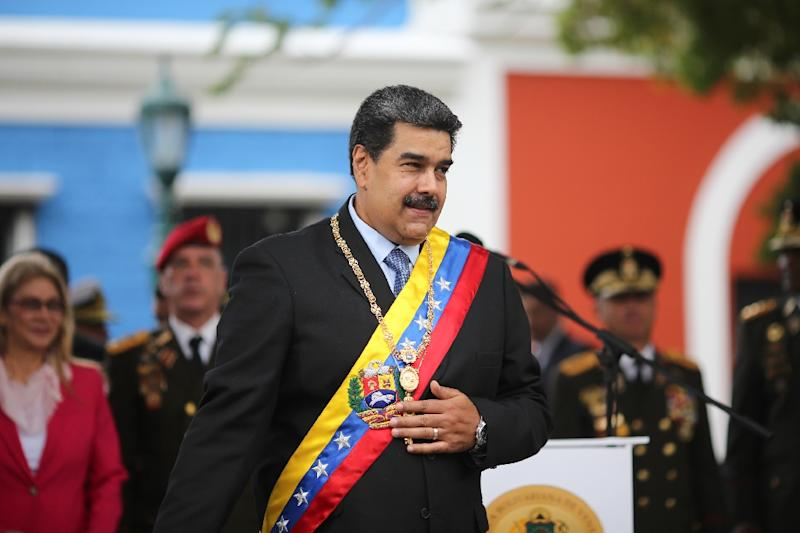 """Those targeted for sanctions are aligned with """"illegitimate former"""" President Nicolas Maduro, according to the Treasury Department"""
