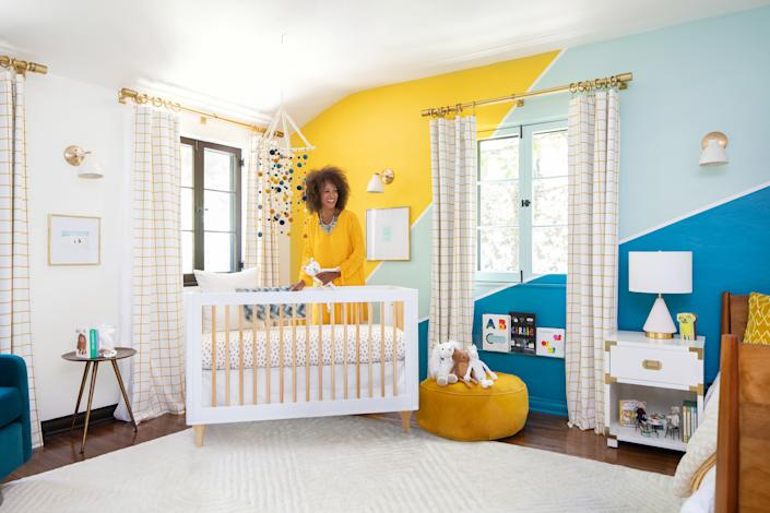 "<h1 class=""title"">Shot by.jpg</h1> <div class=""caption""> ""We tasked ourselves with creating a functional nursery, instead of simply designing something special. Great design should be both beautiful and functional, after all,"" says Jane. </div> <cite class=""credit"">Photo: Ryan Garvin</cite>"