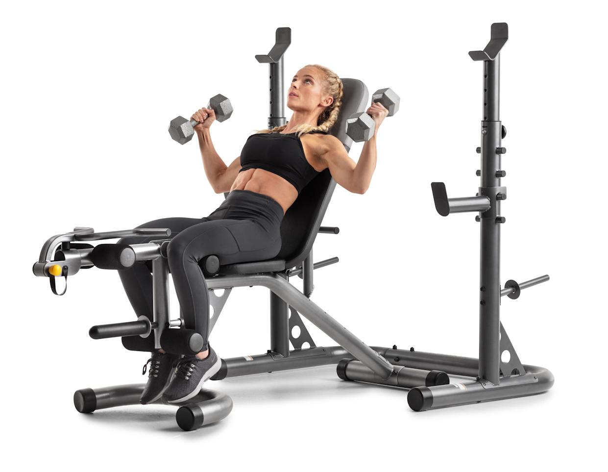 Now you have no excuse to skip the gym. (Photo: Walmart)