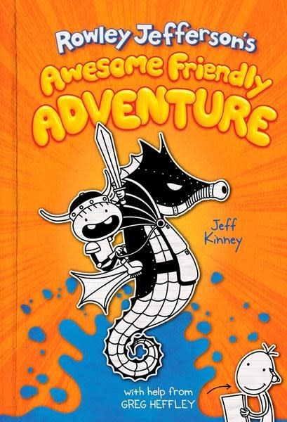 Jeff Kinney has 'Wimpy Kid' spinoff book out in April