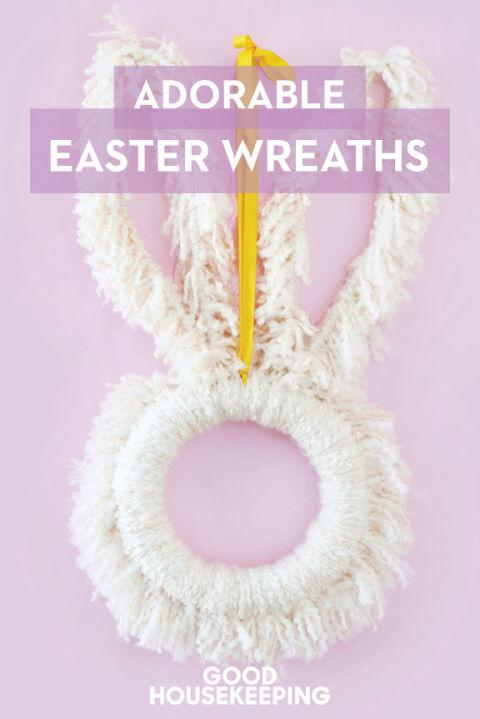 36 Ways To Deck Out Your Door For Easter