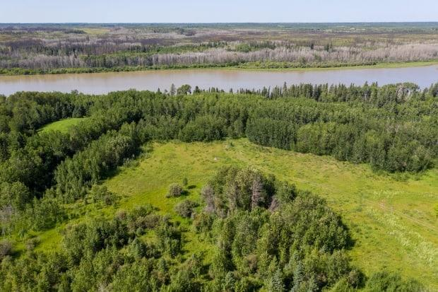 The non-profit was given 10 acres of land for its planned retreat near Prince Albert.