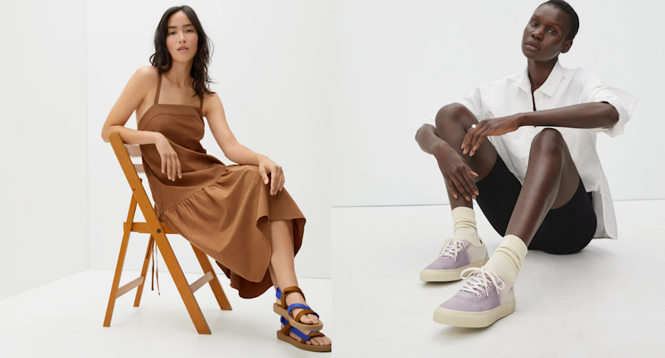 The Everlane summer sale is on now. Images via Everlane.