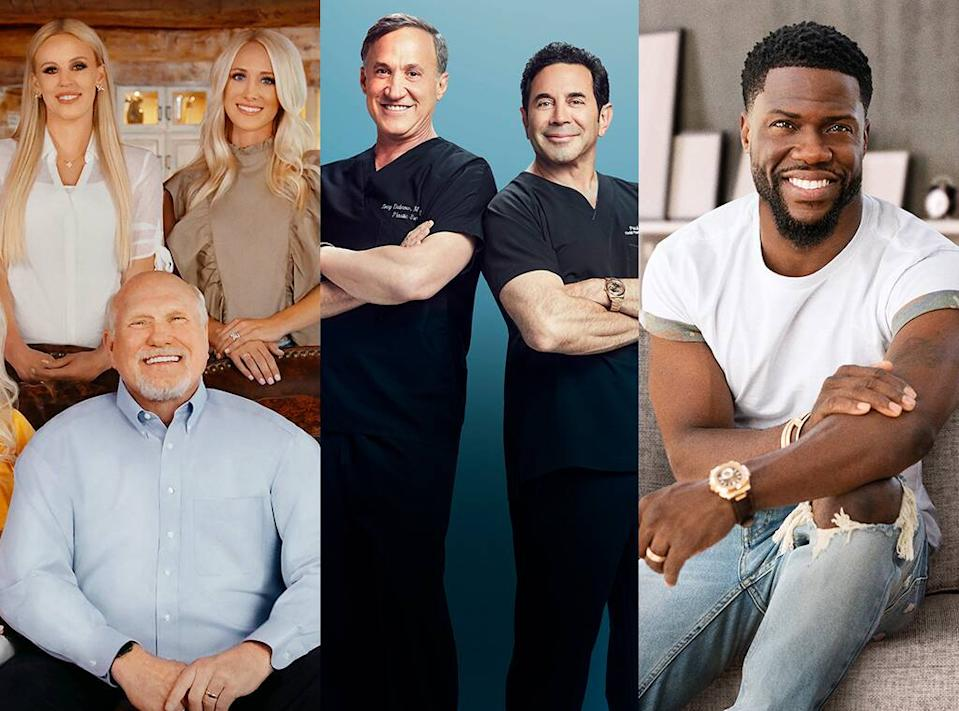 The Bradshaw Bunch, Botched, Celebrity Game Face, E! Shows