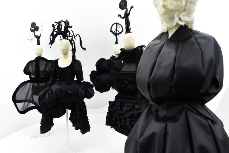 Comme des Garcons focuses on asymmetry, imbalance and the form and structure of the garment, often relegating the wearer to the background