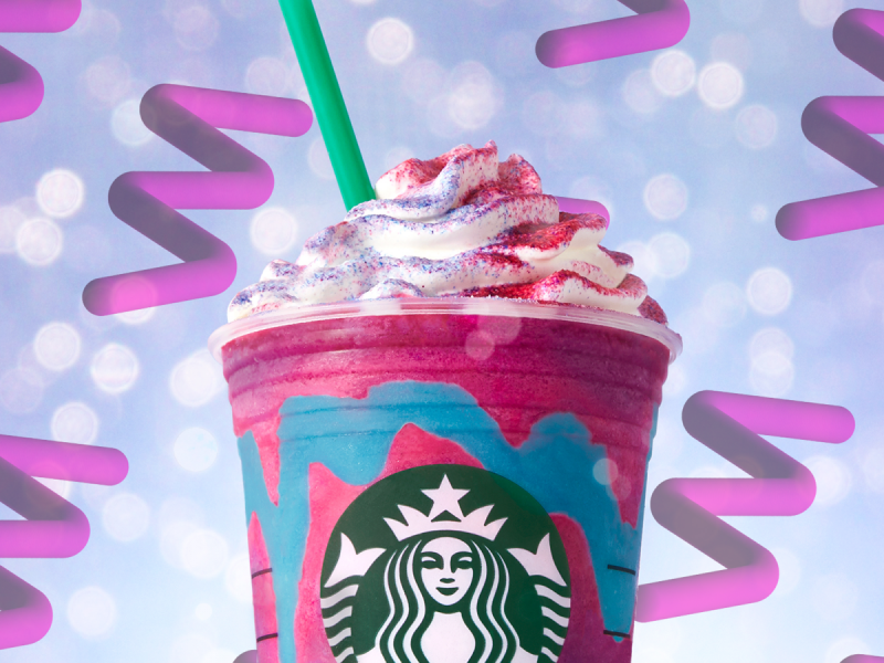Starbucks Also Unleashed A Dragon Frappuccino Over The Weekend