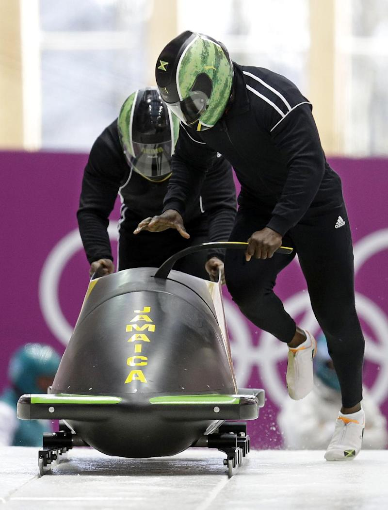 SOCHI SCENE: Jamaica's bobsled song