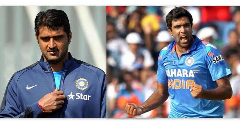 Pankaj Singh (left) and Ravichandran Ashwin (right) made their ODI debuts together (Picture courtesy – Cricketcountry)