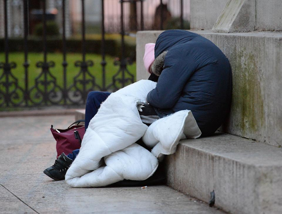 Some 2,589 people were recorded as sleeping rough in London between April and June, figures show (Nick Ansell/PA) (PA Archive)