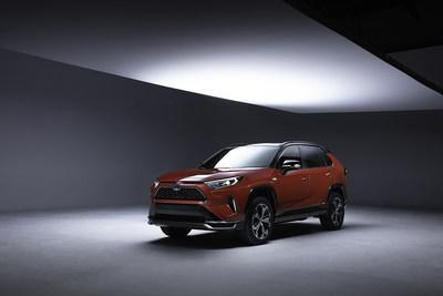 Toyota teases what will become the most powerful RAV4 yet – the 2021 RAV4 plug-in.