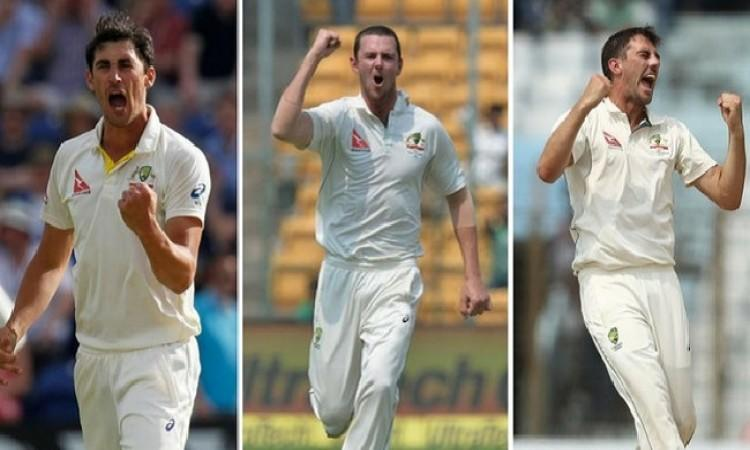 Image result for Aussie pace battery better than 2013-14 Ashes trio: Harris