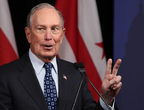 PHOTO: WASHINGTON, DC - JANUARY 30: Democratic presidential candidate, former New York City Mayor Michael Bloomberg speaks about affordable housing during a campaign event on January 30, 2020 in Washington, DC. (Mark Wilson/Getty Images)